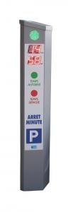 Bornes de stationnement arrêt minute parking de proximité