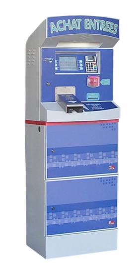 Bornes de paiement guichet automatique billetterie