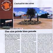 Borne installée M-Innov Aire service - Article de presse