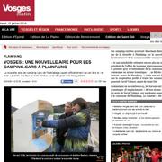 Articles de presse - aire camping car - borne paiement
