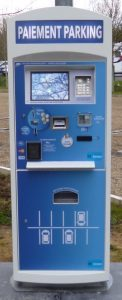Installation d'une Startbox Touch par M-Innov - gestion paiement parking