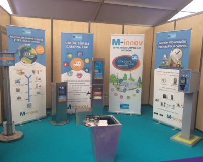 Participation M-Innov au Salon Atlantica - La Rochelle 2016