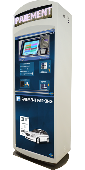 Borne starbox touch - Gestion parking